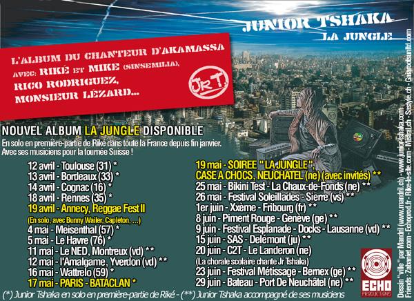 LIVES JUNIOR TSHAKA EN SUISSE Jr_tshaka_tour_mai-juin